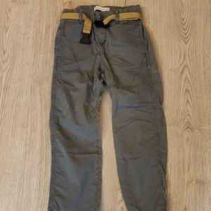 Zara Kids Boys Khaki Trousers 8years